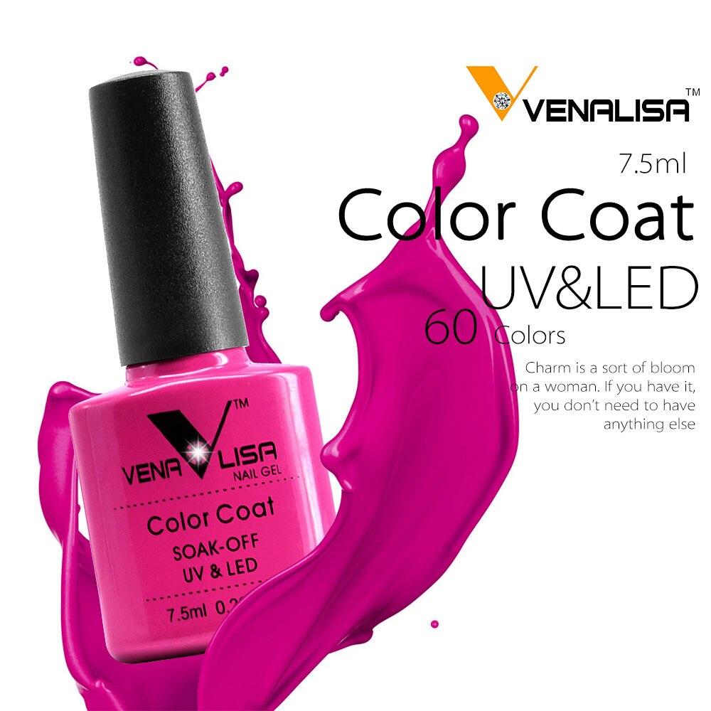 Whole Nail Art Supplies Hong Kong 61508 2017 New 60 Fashion Color Venalisa Gel Polish Vernish