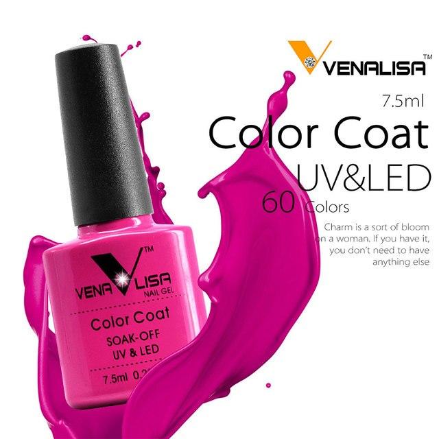 #61508 2017 new 60 fashion color Venalisa gel polish vernish color gel  polish for nail art design