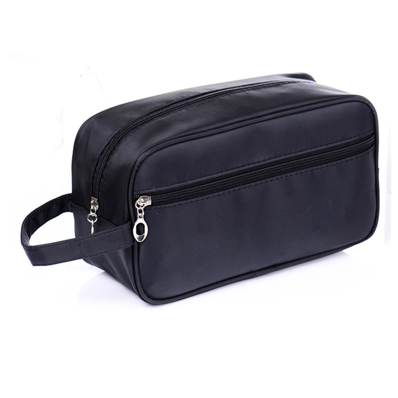 Men's Double Cosmetic Toiletry Bag Large Capacity Waterproof  Cosmetic Bag Organizer Washing Makeup Special Purpose Accessories