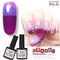Cambio de Temperatura Esmalte de uñas de Gel de Uñas de Color UV Gel Polaco gradiente de Uñas de Gel Nail empapa del polaco del gel 7.5 ml/1 unid