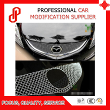 304 Stainless steel modification car front grille racing grills grill cover trim for Mazda 6 Core-wing 2009 2010 2011 2012 недорого