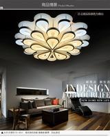 25 главы Павлин Лидер продаж современный светодиодный потолочный светильник для гостиной Спальня Крытый акриловые Быстрая доставка