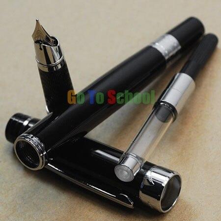 PICASSO 917 stylo plume noir et argent plume moyennePICASSO 917 stylo plume noir et argent plume moyenne
