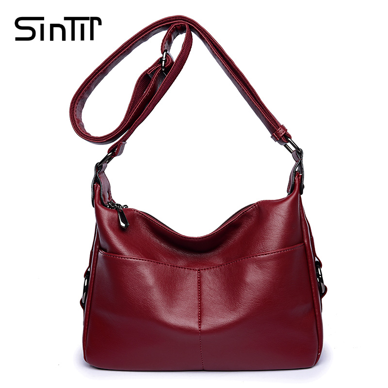 SINTIR Women s Messenger Bags Fashion PU Leather Travel Casual Original Bag Shoulder Bags for Women