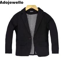 Boy Monochromatic Color Blazer Jacket