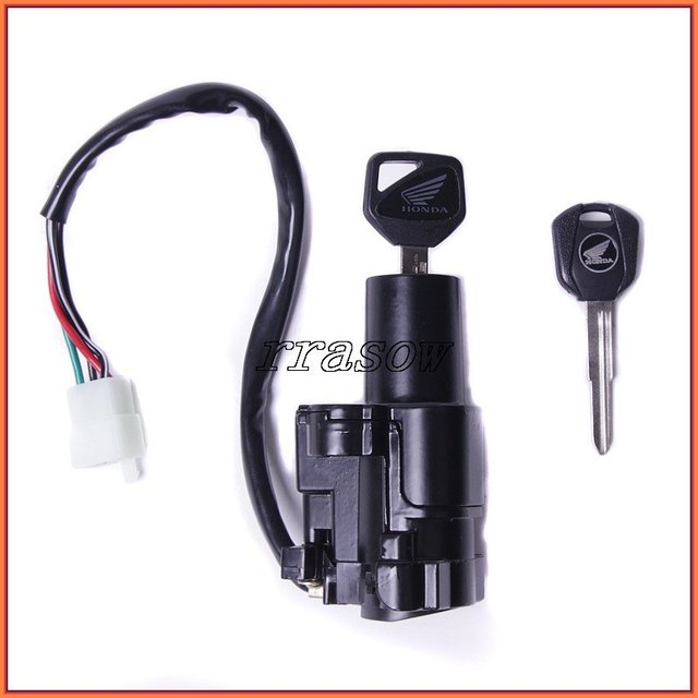 motorcycle scooter ignition switch & lock with key for honda honda oxygen sensor wiring motorcycle scooter ignition switch & lock with key for honda cbr600rr cbr600 03 04 05 06
