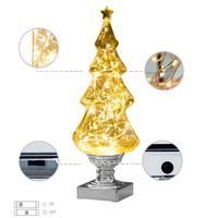 USB LED Wishing Tree Night Light Decortion Party Birthday Atmosphere Ornaments