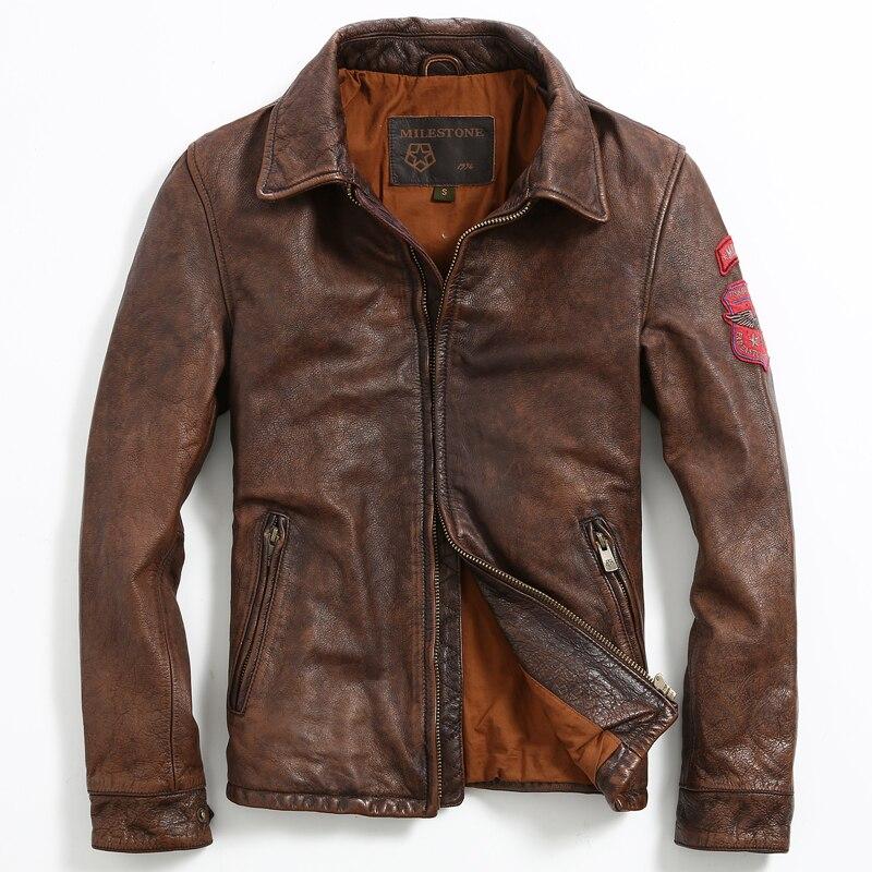 Popular Retro Leather Jackets-Buy Cheap Retro Leather Jackets lots ...