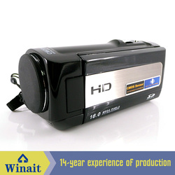 Shutter Control Electronic Shutter HDV-777 digital video camera with li-Ion Battery
