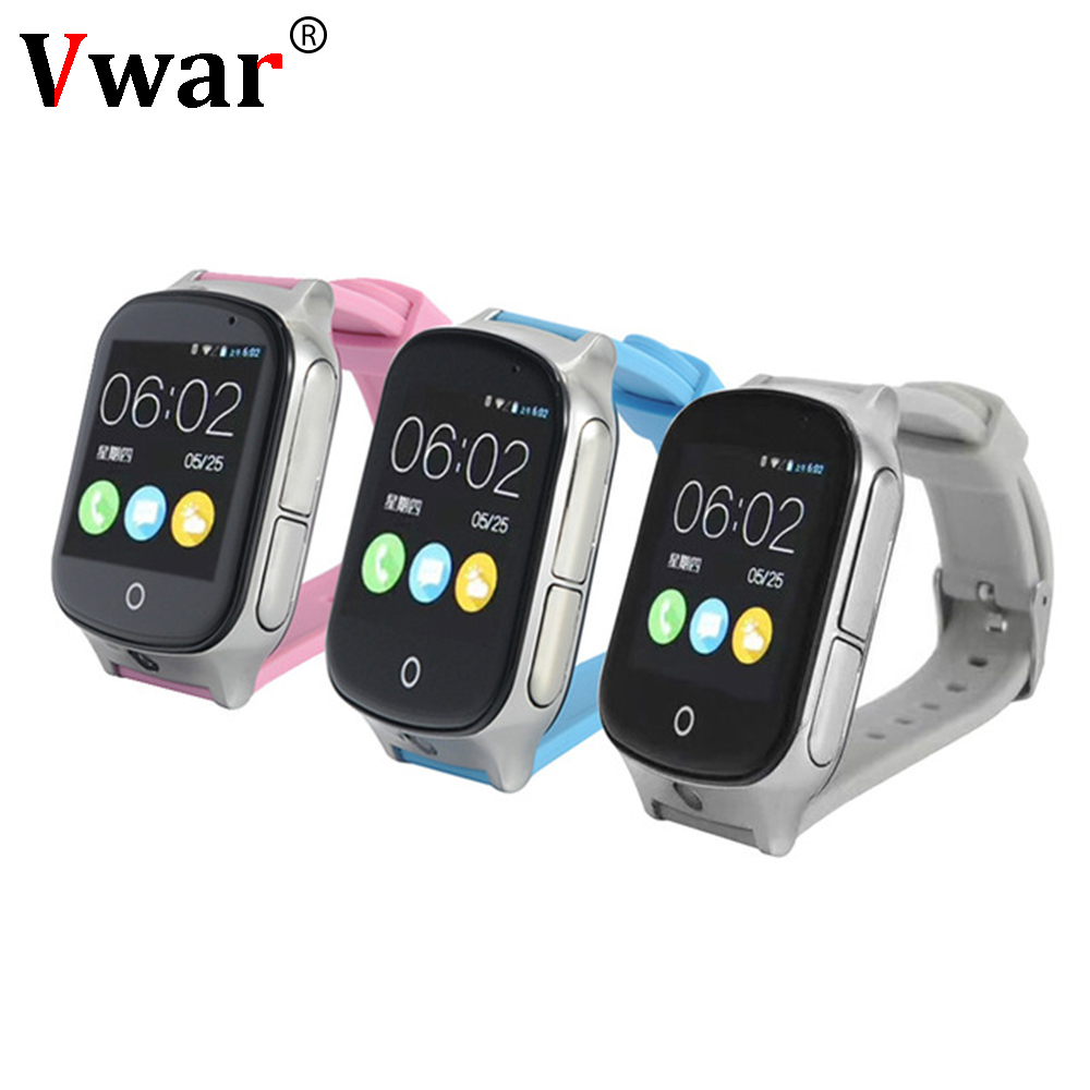 A19 Kid Precise 3G Smart Baby Watch A19 support GPS WIFI SOS LBS Camera Locate Finder emergency call for 3G child smartwatch
