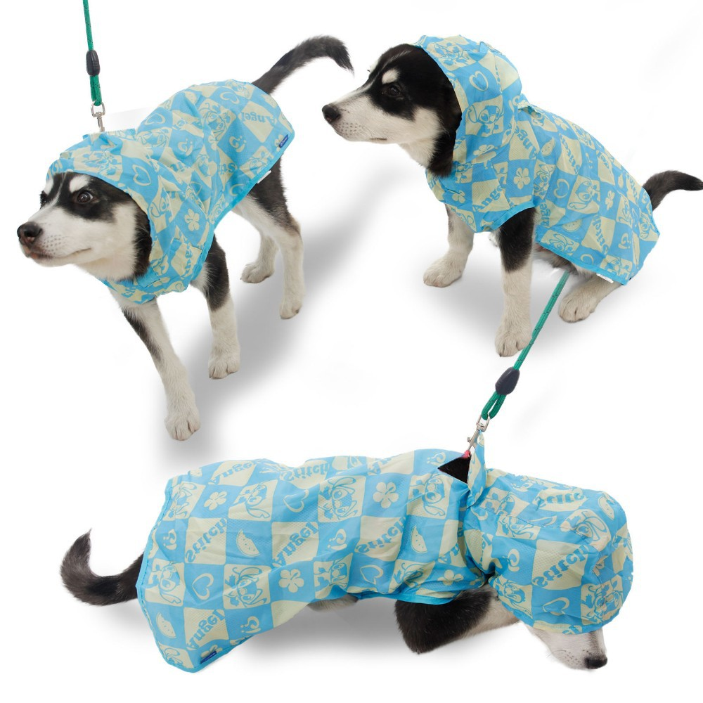 Wholesale Cheap!!Dog Clothes Pet Dog Raincoat Cute Puppy