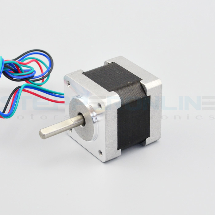 HOT SALE! Nema 14 Stepper motor Bipolar 4 leads 5.4V 0.8A High Torque 18Ncm(25.5oz.in) stepper motor 35x35x34mm for 3d printer