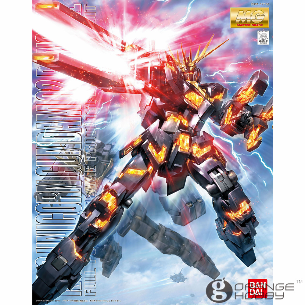 OHS Bandai MG 155 1/100 RX-0 Unicorn Gundam 02 Banshee Mobile Suit Assembly Model Kits oh bandai hguc 178 1 144 rx 0 full armor unicorn gundam destroy mode mobile suit assembly model kits