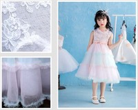 Colorful Girls Dress Summer Sleeveless Princess Dress Rainbow Baby Kids Party Tutu Clothes BC506DS 39