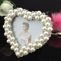 Picture Frames Pearl Diamond Photo Frame Child Photo Frame Personal Framework Home Decor Photo Frame