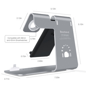 Image 5 - 3 in 1 wireless Charging Stand for Apple Watch For AirPods Charging Station Qi Wireless Fast Charger for iPhone X / 8 8plus