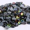Frete Grátis! 1440 pçs/lote, ss6 (1.9-2.1mm) de Alta Qualidade DMC Rainbow Ferro Em Pedrinhas/Hot fix strass