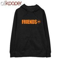 ALLKPOPER KPOP GOT7 JB Hoodie 7 FOR 7 Pullover FRIENDS Letter Sweatershirt Street Shooting Tops