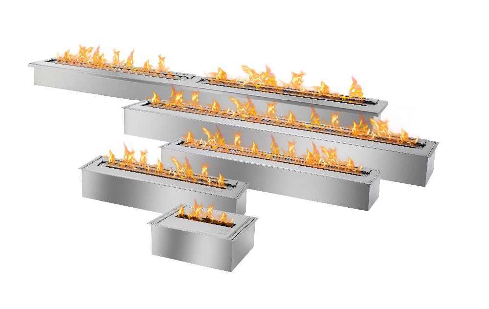 Di jual 31 ''eco api bio etanol perapian dengan stainless steel burner 8L