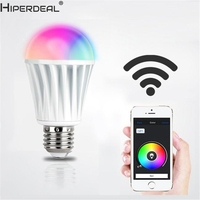 HIPERDEAL Smart House 7 5W 110V 220V RGBW LED Light Mi Light WiFi Controller For IOS