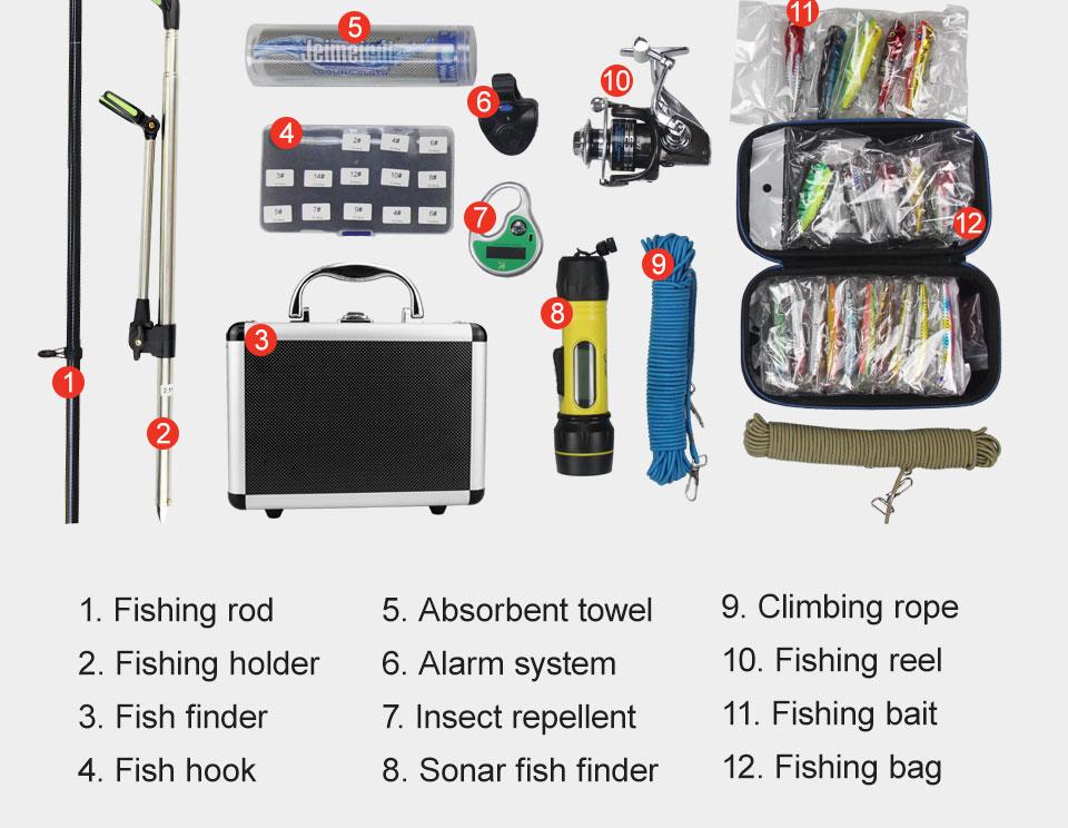 livre grande capacidade multifuncional esporte saco de pesca