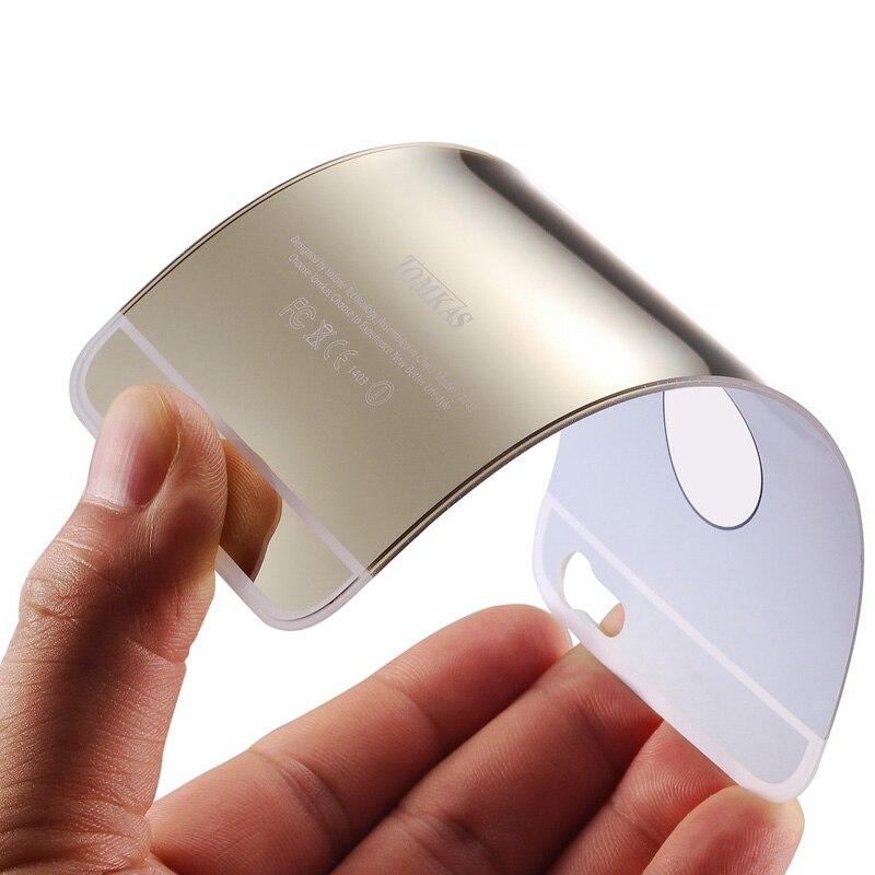 Հայելիի պատյան iPhone 6 4.7 դյույմ շքեղ - Բջջային հեռախոսի պարագաներ և պահեստամասեր - Լուսանկար 4