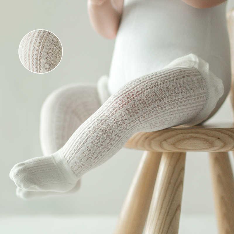 Tất Bé Gái 0-5 Năm Tập Đi Cho Bé Cotton Lưới Tất Sơ Sinh Trẻ Sơ Sinh Bé Trai Cotton Nguyên Chất Mùa Hè vớ Lót Đầu Gối Cao Cấp