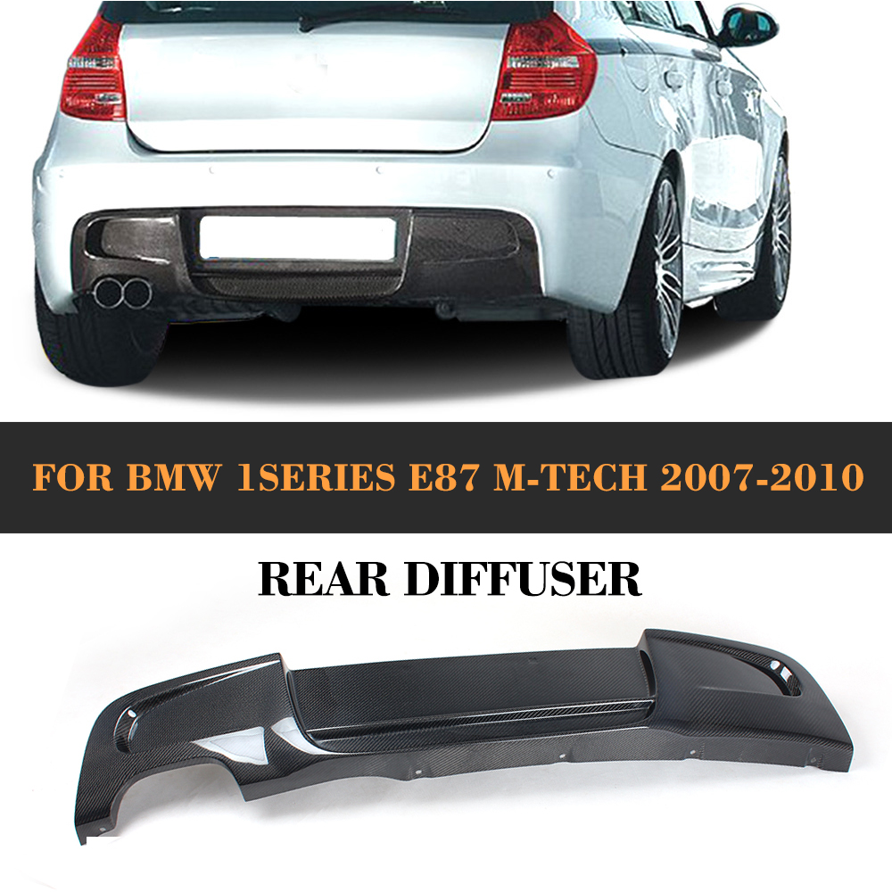 1 series carbon fiber material air diffuser rear lip. Black Bedroom Furniture Sets. Home Design Ideas