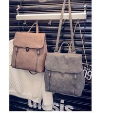 Кожа женщины рюкзаки рюкзак отдыха ryugzakiv школы для девочек-подростков студент bookbags подросток сумка bolsas feminina