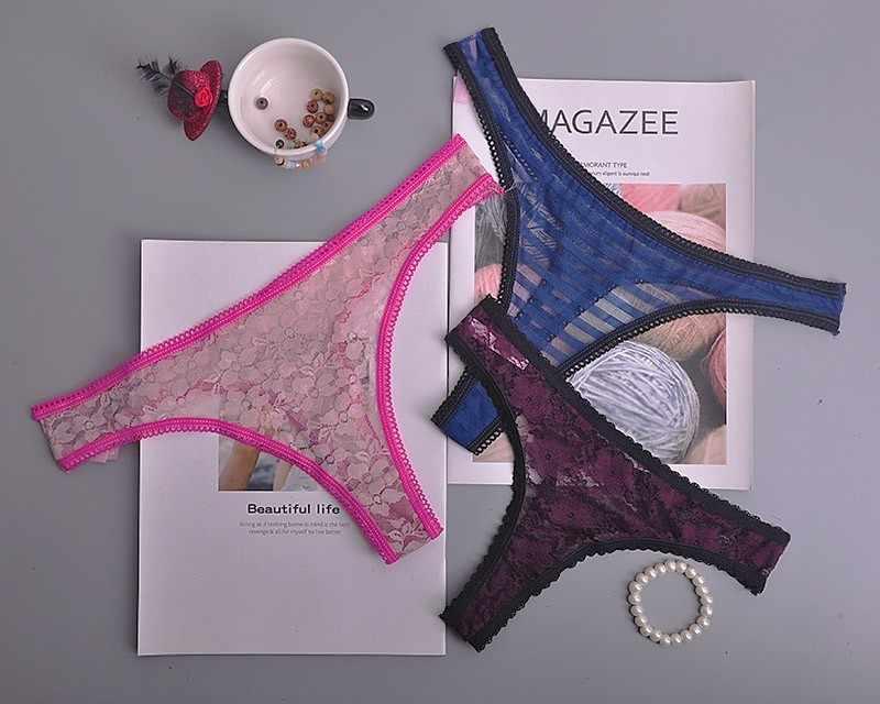 Natal Hadiah Katun Kepingan Salju Putih Wanita Seksi Tali G-string Celana Dalam Panties Celana untuk Wanita T-Kembali 1 Pcs/lot ac131