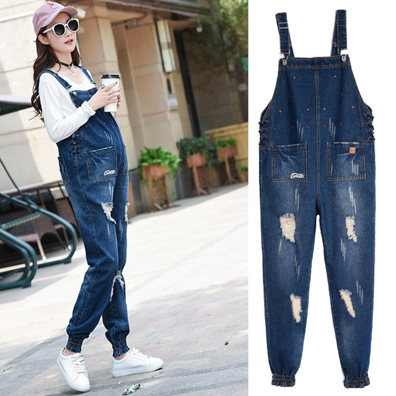 Envsoll 2017 Autumn Jumpsuit Maternity Pants Pregnancy Clothes For Pregnant Women Overalls Roupa Gestante Trousers autumn denim overalls for pregnant women jumpsuit pregnant clothes rompers jeans maternity overalls denim trousers y807
