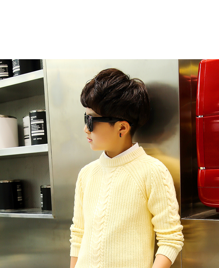 HTB1u3ohfaagSKJjy0Fhq6ArbFXaF - 2019 winter children's clothing Boy's clothes pullover Sweater Kids clothes Cotton products Keep warm Boy sweater Thicker