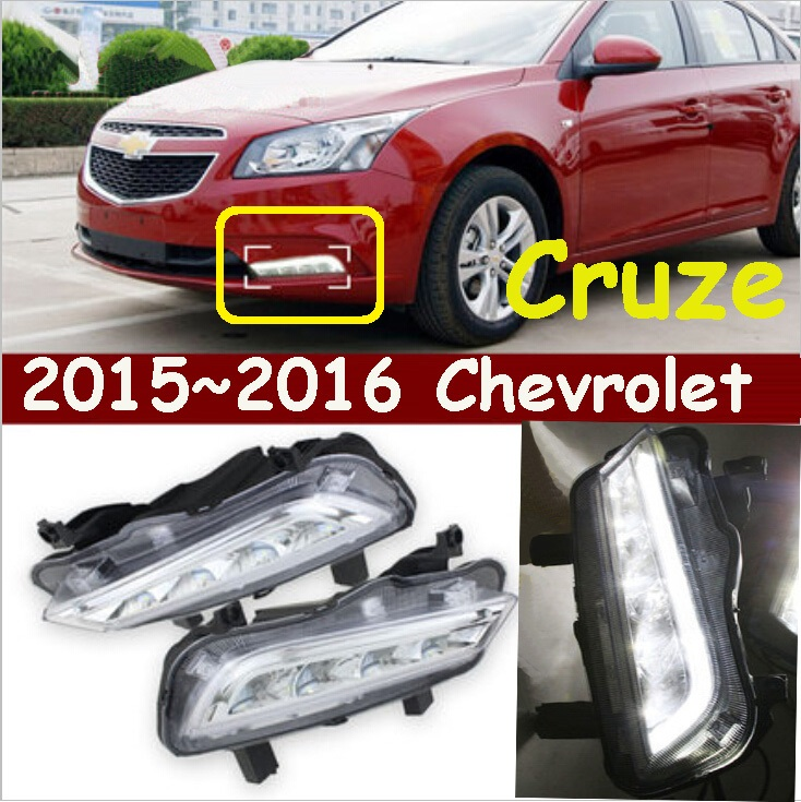 ФОТО Cruz turn light,car daytime light,2009~2013/2015~2016,chrome,LED,Free ship!2pcs,car-detector,car fog light