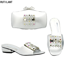 Новое поступление; Итальянская обувь с сумочкой в комплекте; г.; женская обувь и сумка в комплекте в итальянском стиле; новая обувь и сумка в комплекте; вечерние туфли в нигерийском стиле