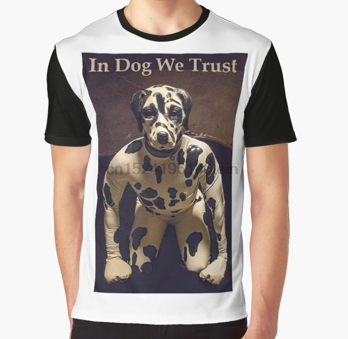 All Over Print 3D Women T Shirt Men Funny Tshirt In Dog We Trust Inspired By The Preacher TV Series Graphic T-Shirt