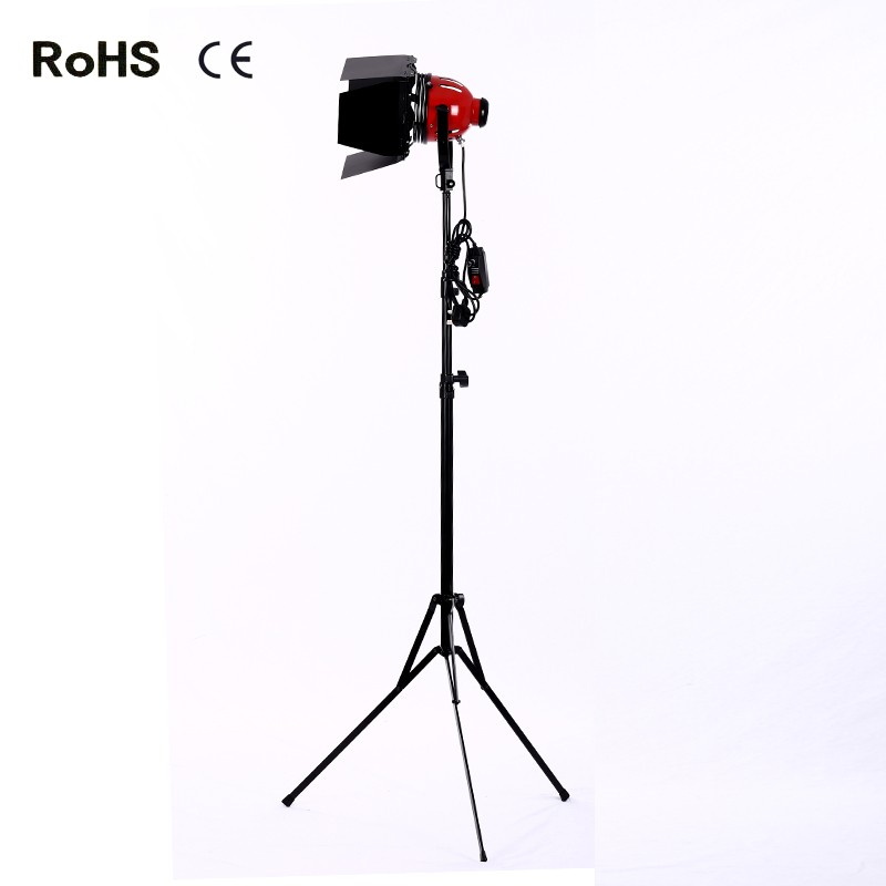 800w Photo Video Studio, Film and Television Continuous Lighting Light Spotlight&2.4m thicken light stand