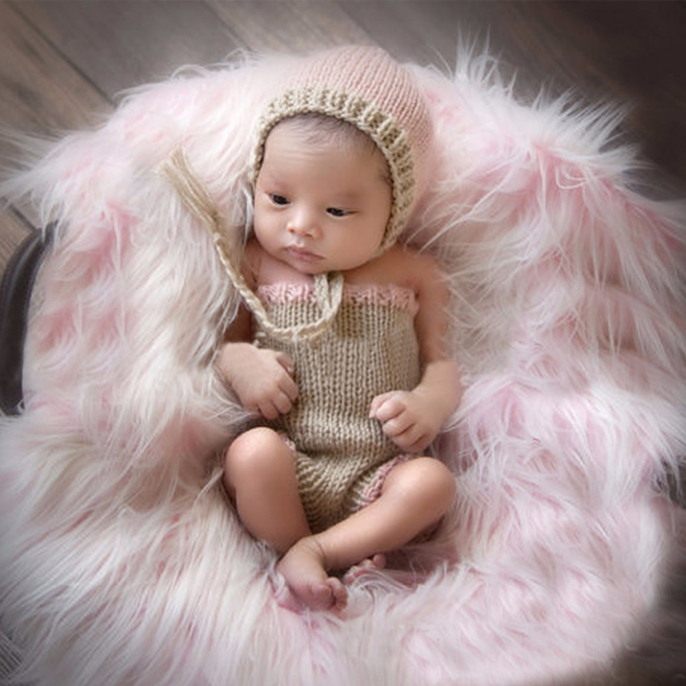 Sleepsacks Clever Newborn Photography Props Wraps Baby Crochet Knitted Sleeping Bag Photo Props Fr024 Mother & Kids
