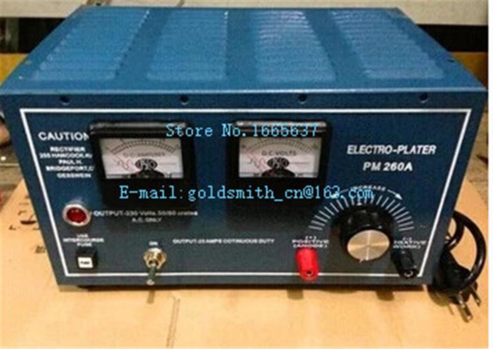 Redresseur de placage Électronique machine + 1 pièces titanium filet et 1 pièces conduit gratuitement, électro Plater Pour Bijoux