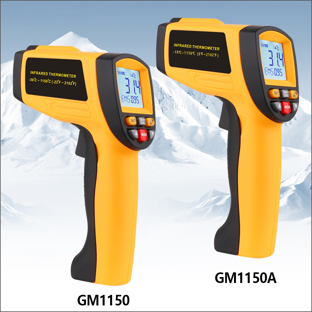 Image 2 - RZ Digital Handheld Gun Non Contact Infrared Thermometer Laser 