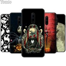 Jack Skellington Before Christmas Soft Cover Shell for Oneplus 7 7 Pro 6 6T 5T Silicone Phone Case for Oneplus 7 7Pro Black Case