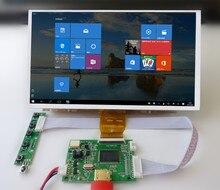 Tela hd de 9 polegadas 1024*600, monitor tft lcd com placa de controle remoto hdmi para computador laranja raspberry pi 2 3 4
