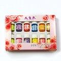 12 шт./лот 100% Pure Lavender Сандал Эфирные масла Пакет для Ароматерапии Массаж Спа Ванны Масло Для Ухода За Кожей 12 Аромат