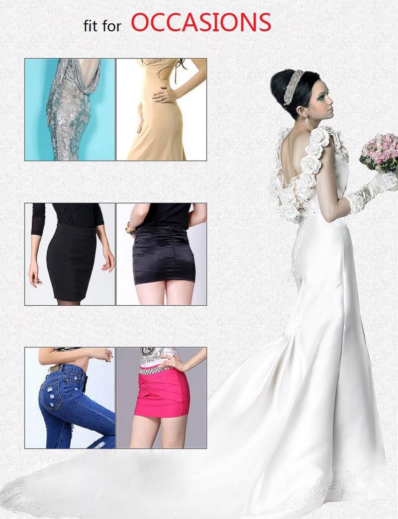 bd736a4b926057 NINGMI Women Butt Lifter Slimming Tummy Control Panties Wedding ...