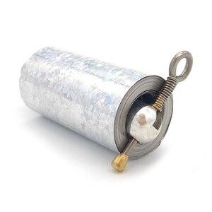 Image 2 - Palo mágico retráctil de 1,1 M, juguete elástico que aparece en Metal, bastón, bufanda, palos, accesorios para mago TY0334
