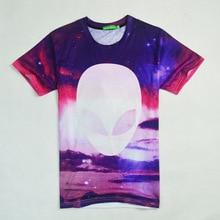 2017 casual Alien ET hiphop male concert shirt O-neck sweatshirt 3d print women/men cartoon pullover summer Tees T-shirt