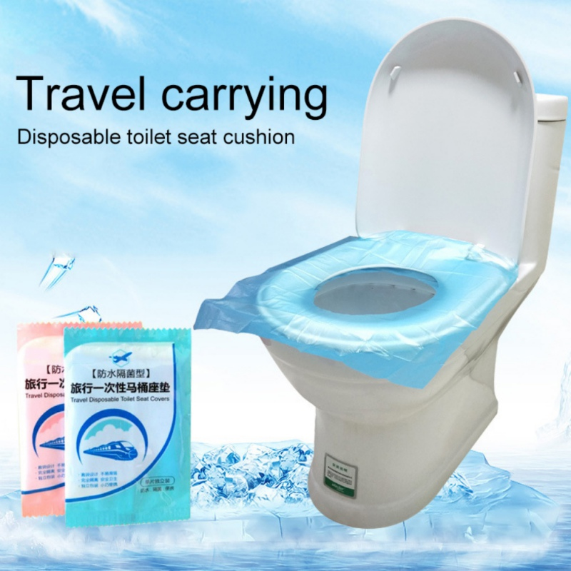 25PCS Disposable Toilet Seat Covers Travel Protectors With