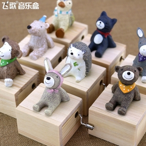 Home Decor Cute Mini Animal Wo