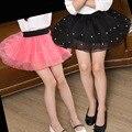 2017 Новый летний стиль прекрасный бальное платье юбка девушки юбки pettiskirt 2 цвета девушки юбки для 3-7 лет дети юбка