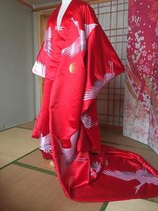 Kimono japonés hecho a medida, prenda exterior, traje de cola, hermoso vestido de mujer, Kimono japonés de rendimiento