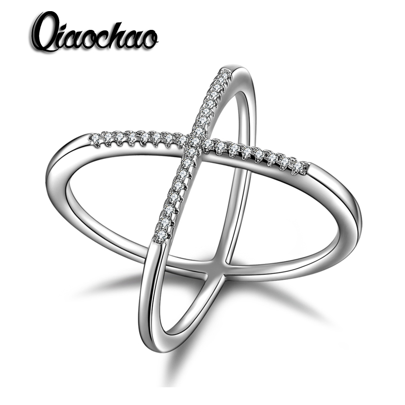 JEWELS 2017 Newest Design Infinity Ring with 36 Pieces Micro Paved CZ Fashion Women Rings Wholesale R206